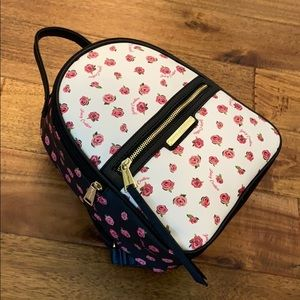 Juicy Couture Black Dusty Rose Backpack